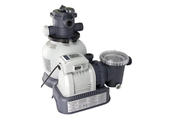 Intex 28645EG - Krystal Clear™ 2100Gph Filter Pump with GFCI