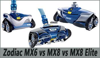 Zodiac MX6 vs. MX8 vs. MX8 Elite
