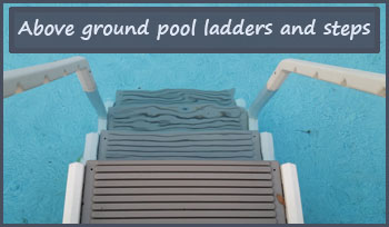 above ground pool ladders and steps review