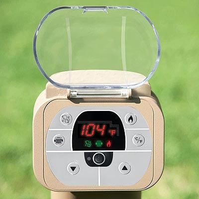 Intex temperature control panels