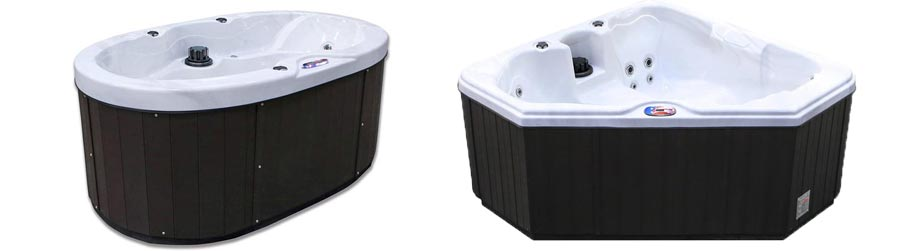 AM-628TS and AM-418B hot tub materials