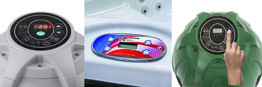 Power Saving Timer small hot tubs