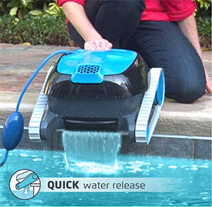 Quick Water Release System Nautilus CC