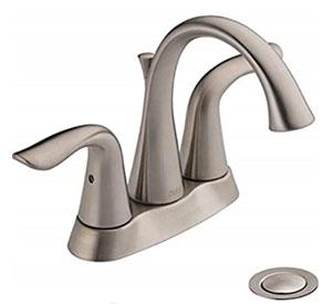 Delta Faucet Lahara Bathroom Faucet 2538-SSMPU-DST