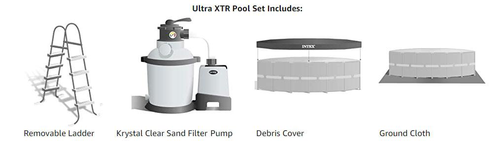 Ultra xtr set includes