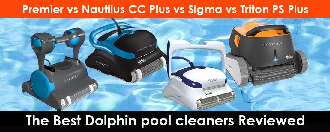 Dolphin Premier vs. Sigma vs. Nautilus CC Plus vs. Triton PS Plus vs. Triton PS