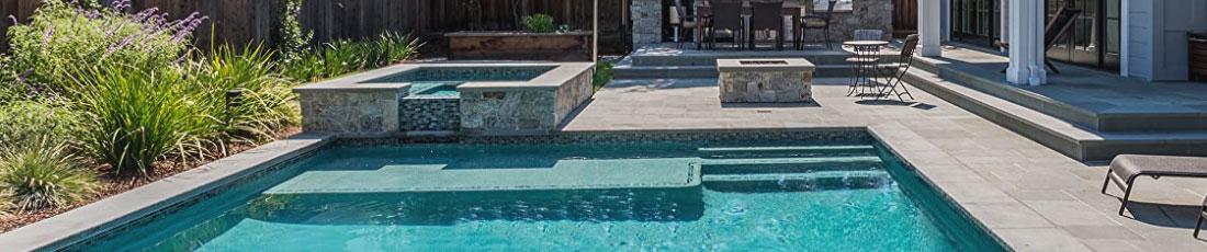 Huge inground pool