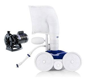 Polaris 360 work with pump