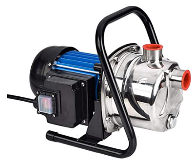FLUENTPOWER 1 HP Portable Stainless Steel Pump