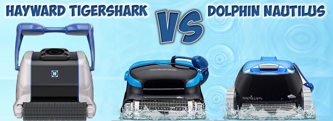 Hayward TigerShark vs Dolphin Pool Cleaners