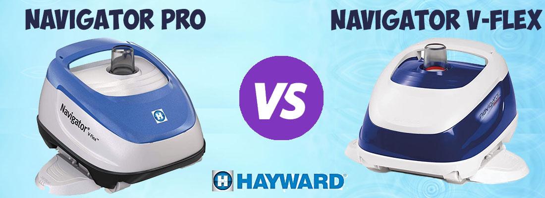 Hayward Navigator Pro vs V-Flex