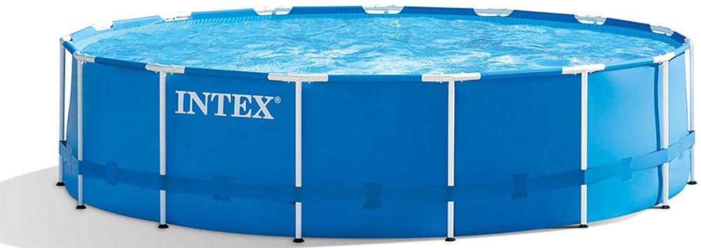 Intex 28241EH 15ft x 48in Metal Frame Above-ground Pool
