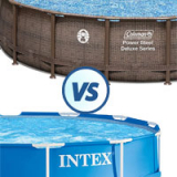 Coleman vs Intex Pools – Find Your Best Frame Pool